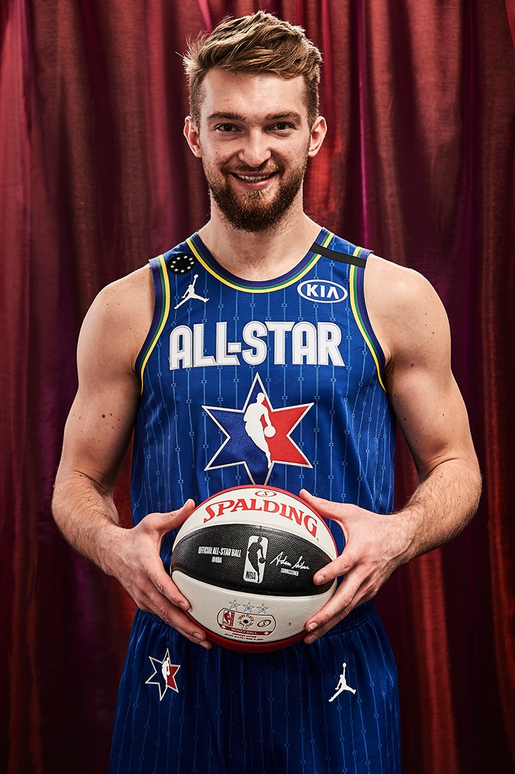 Domantas Sabonis all'All Star Game 2020