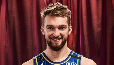 Domantas Sabonis at 2020 All-Star Weekend