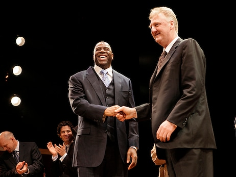 Magic Johnson and Larry Bird to Receive Lifetime Achievement Award at 2019 NBA Awards Presented by Kia on TNT