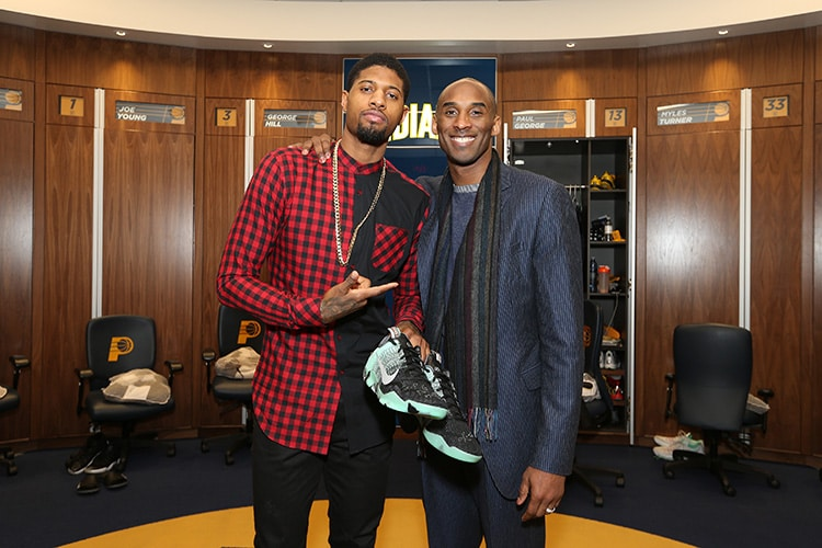 PG and Kobe Share the Floor, and