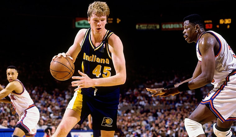 Rik Smits Takes Over the Pacers Twitter Account