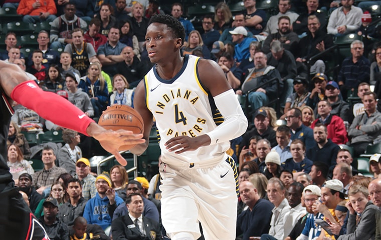 Oladipo Pushes Forward, Pacers Bulk Up Record