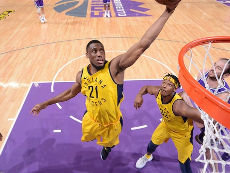 2017-18 Season in Photos: Thaddeus Young