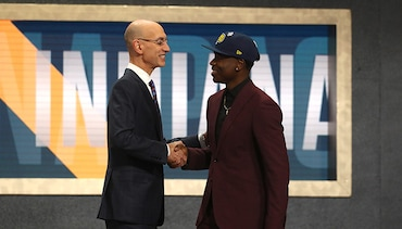 Photos: Pacers Select Aaron Holiday