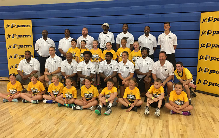 Robinson III Hosts Basketball Clinic in His Hometown
