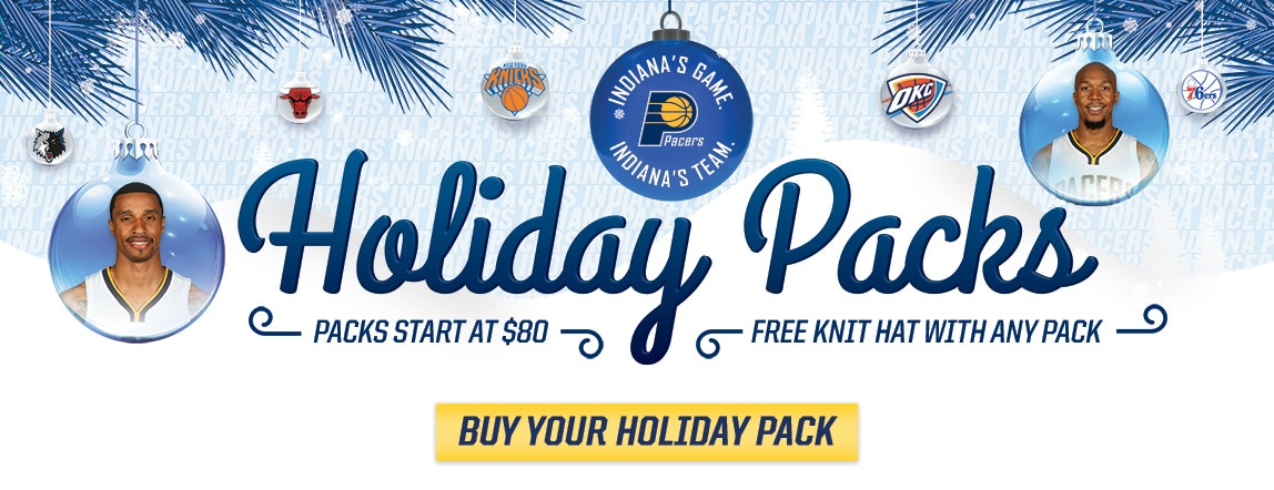 Pacers Holiday Packs