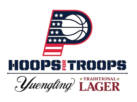 Indiana Pacers and Indiana Fever Celebrate Military Appreciation Month