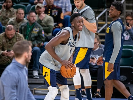 Notebook: Oladipo Scrimmages with Pacers