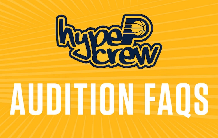Pacers Hype Crew Auditions FAQs