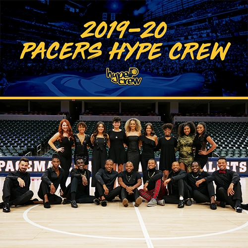 2019-20 Pacers Hype Crew