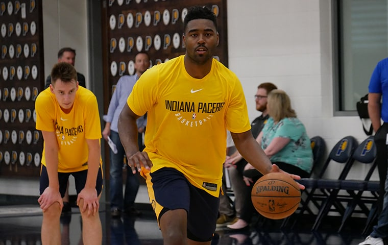 Martin Making Most of Pre-Draft Opportunities