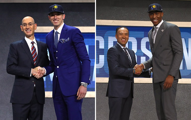 Pacers Draft T.J. Leaf with 18th Overall Pick