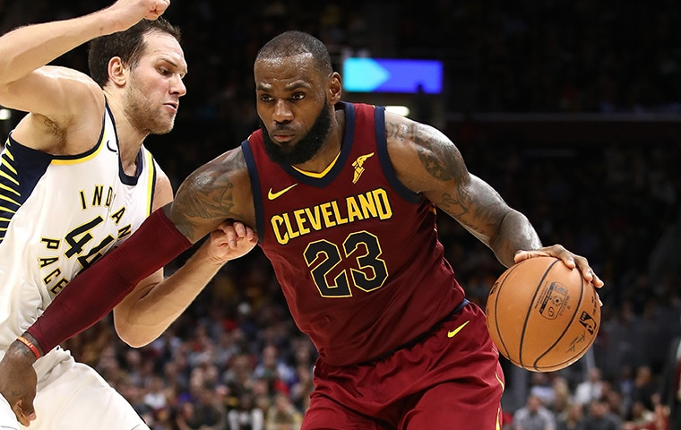 LeBron James, Bojan Bogdanovic