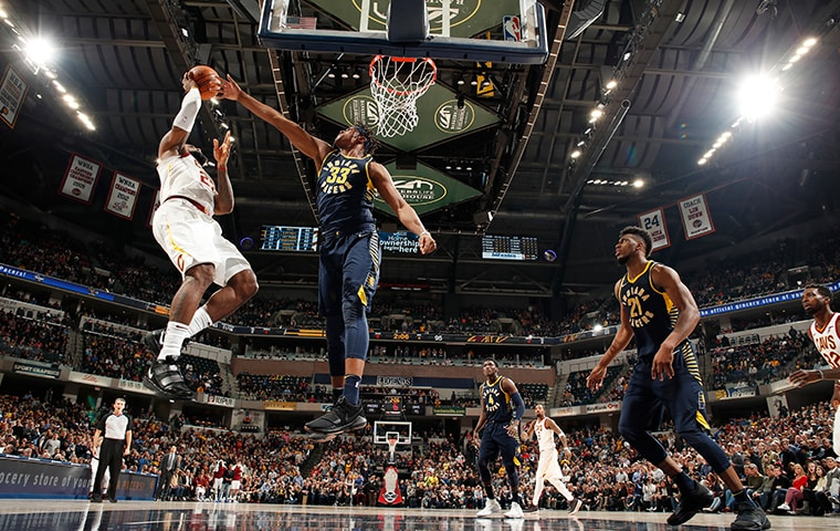 LeBron James, Myles Turner