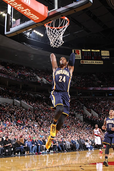 Paul George Slam Dunk Gallery | Indiana Pacers