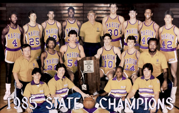How Big Were the 1980s Marion Teams They Were Giants