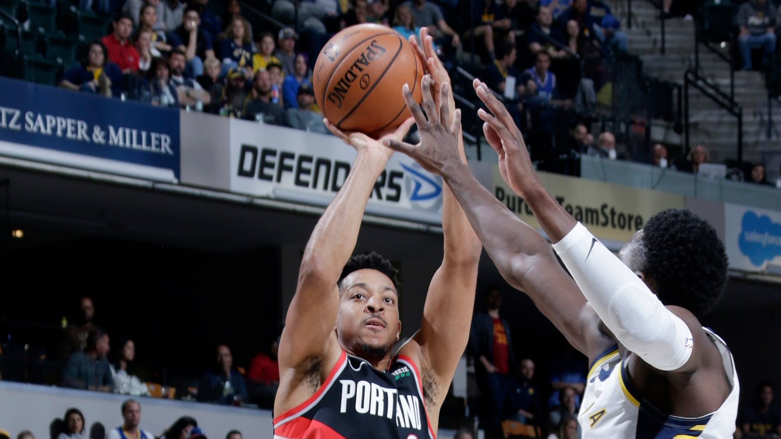 GAME RECAP: Blazers 103, Pacers 93