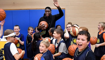 Oladipo Surprises Local Youth Program