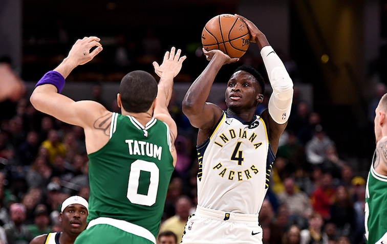 Oladipo Shedding His Constraints | Indiana Pacers