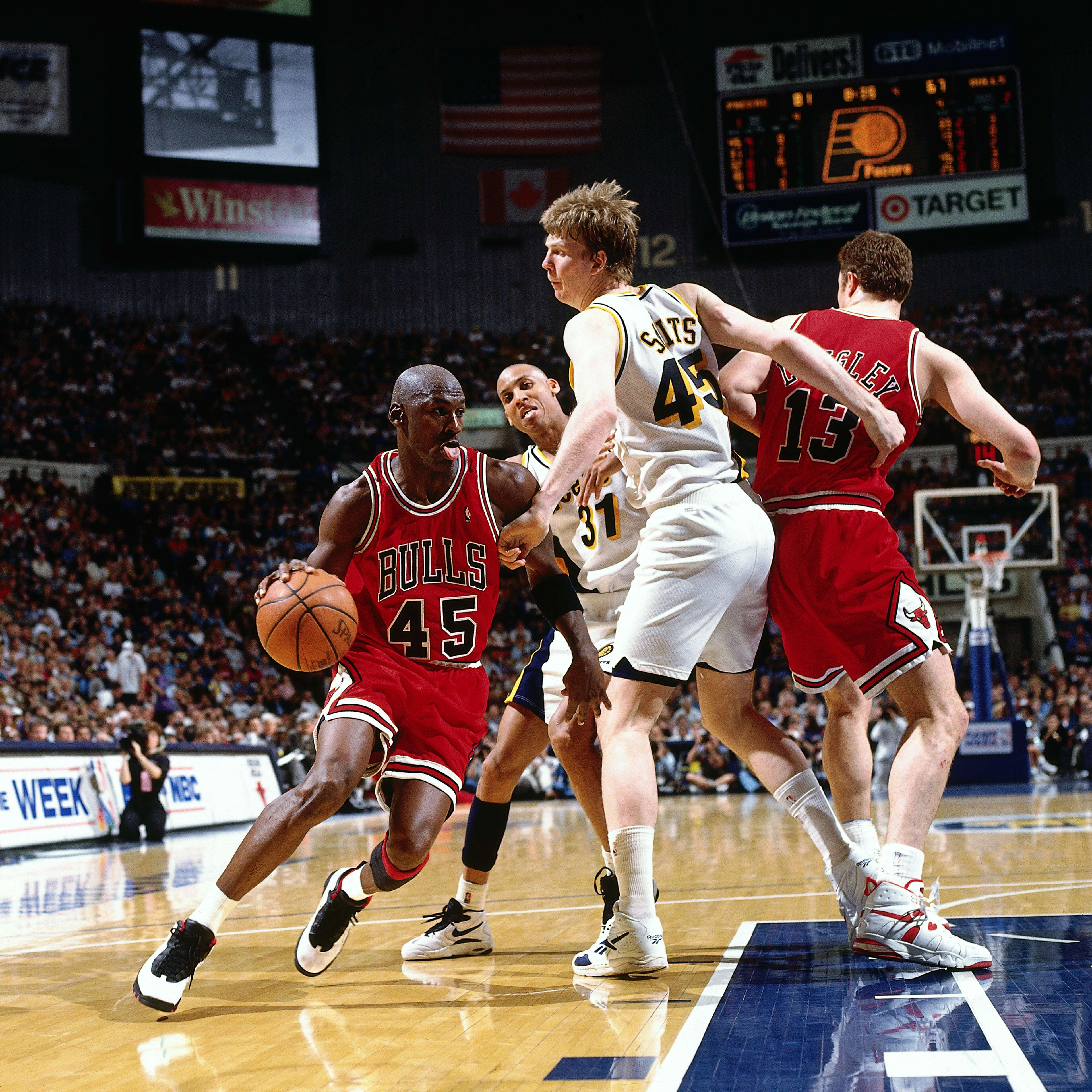 purchase cheap 1991d c871e Jordan's Comeback Game at Market Square Arena | Indiana Pacers