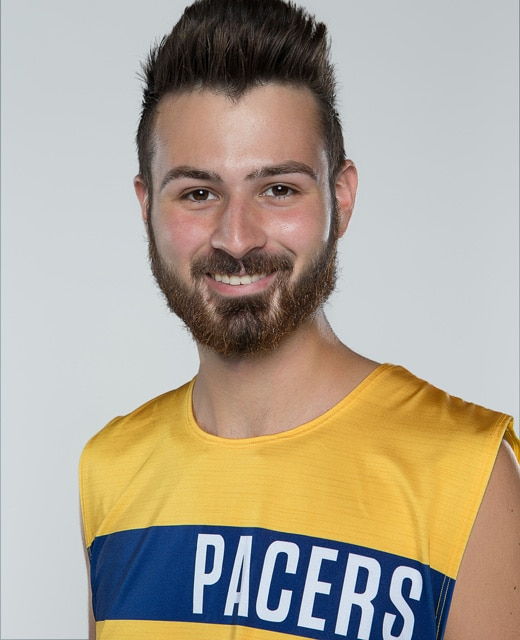 Pacers Hype Crew Member Nate