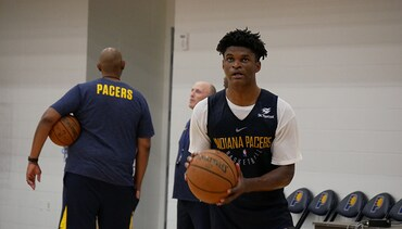 Photos: Pacers Select Alize Johnson