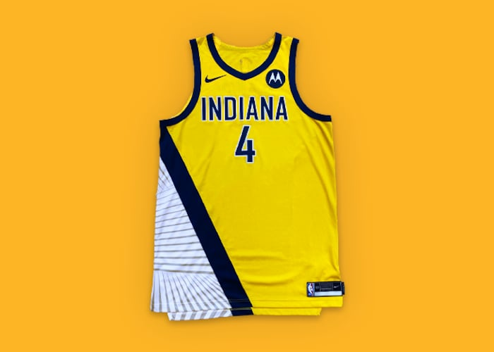Refreshed Statement Uniform Showcases Pacers History