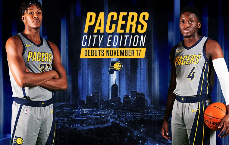 online store fd0b3 8d508 City Edition Uniforms Tell a Story of Speed | Indiana Pacers