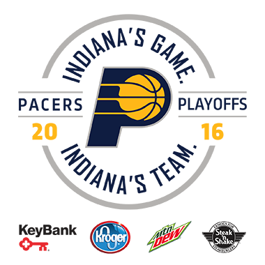Pacers Playoffs presented by Key Bank, Kroger, Mountain Dew, and Steak n Shake