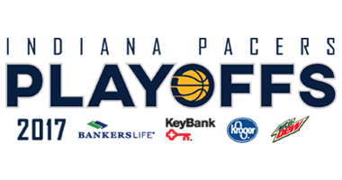 Pacers Playoffs presented by Bankers Life, Key Bank, Kroger, and Mountain Dew