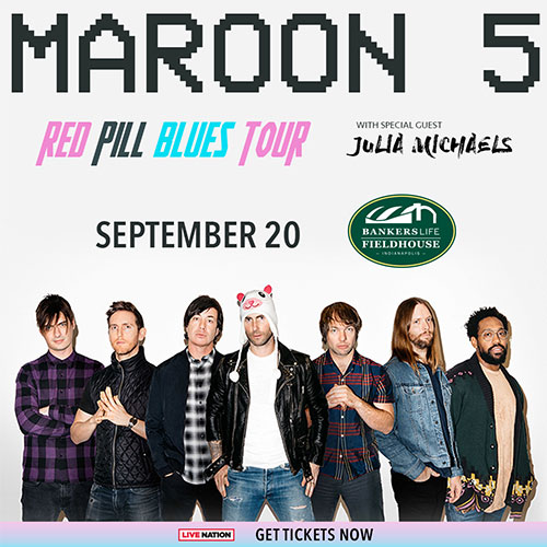 Maroon 5 tickets