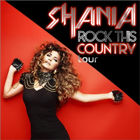 Shania Twain - Tickets