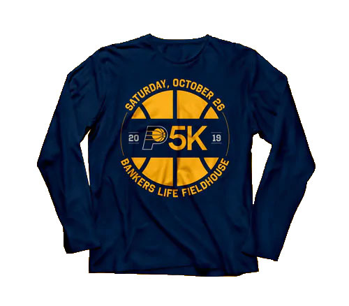 Pacers 5K Shirt