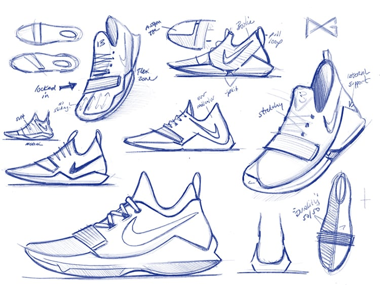 cff58e17bbd First Look at Paul George s Signature Shoe