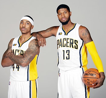 Young Pacers fans