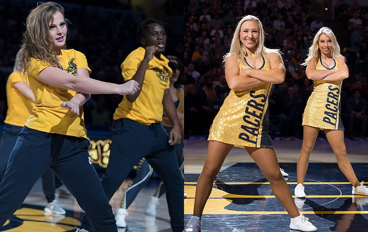 Pacers Hype Crew/Indiana Pacemates