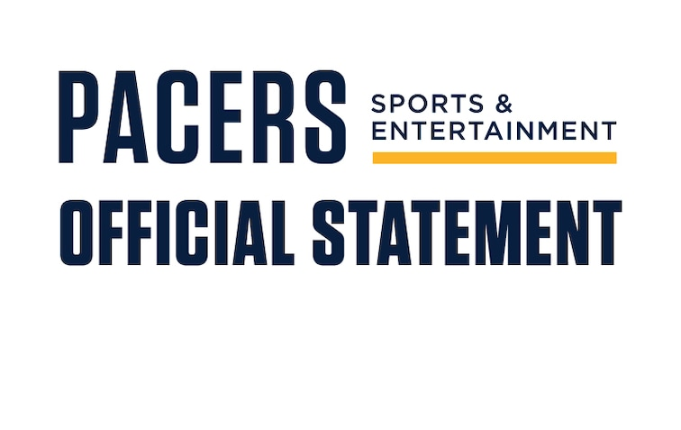 Pacers Sports & Entertainment Official Statement