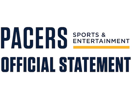 Official Statement from Pacers Sports & Entertainment