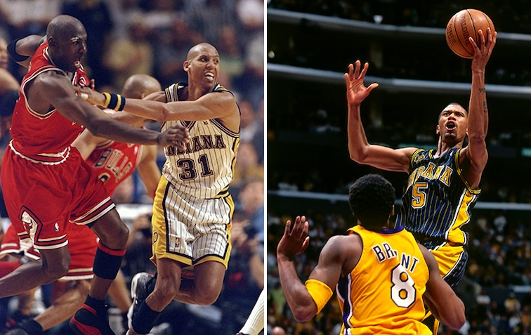 Reggie Miller and Michael Jordan, Jalen Rose and Kobe Bryant