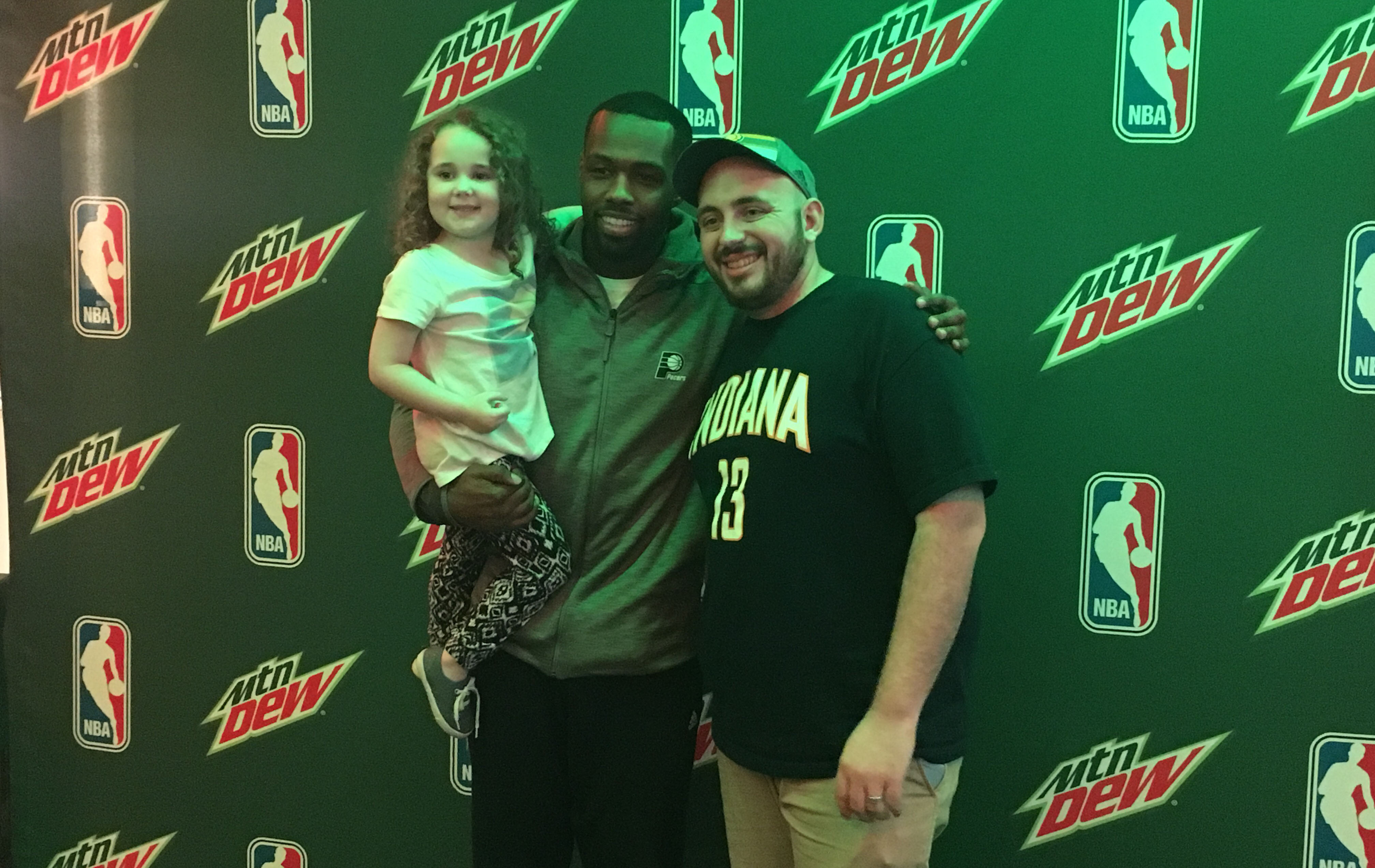 Stuckey Spends Time With The Dew Crew