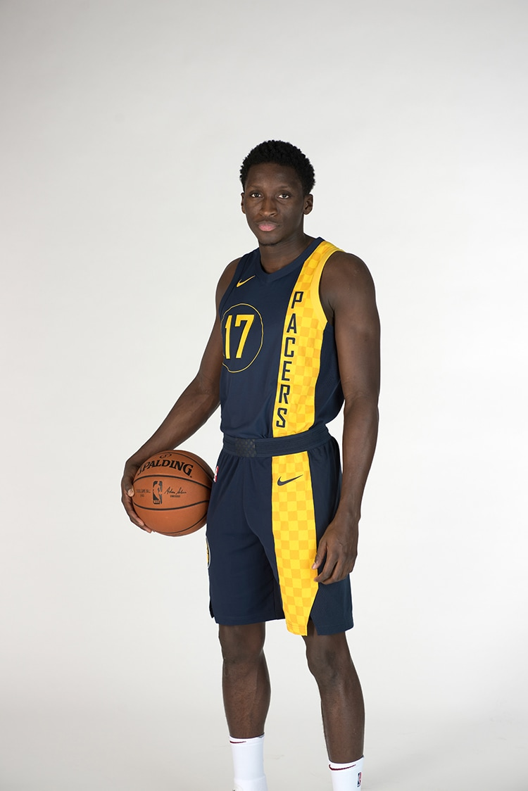 b56f1aefb1bc6 On Wednesday, the Pacers released their fifth Nike uniform of the season, the  City