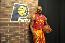 George Hill in Hickory uniform