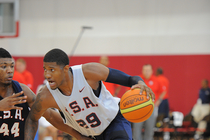 Paul George with USA Basketball