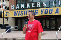 Bankers Life Fieldhouse Takes the ALS Ice Bucket Challenge