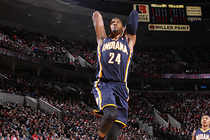 Paul George Dunk Gallery - 1