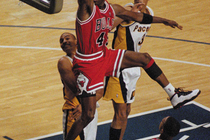 Pacers-Bulls Playoff History - 1