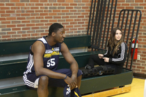 McKayla Maroney visits Bankers Life Fieldhouse - 1