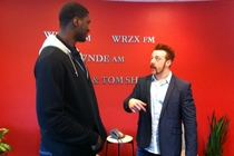 Roy Hibbert & WWE World Heavyweight Champ Sheamus - 1