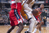 Pacers 49, Wizards 49 Halftime Gallery - 1