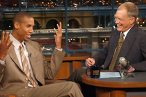 David Letterman, Reggie Miller